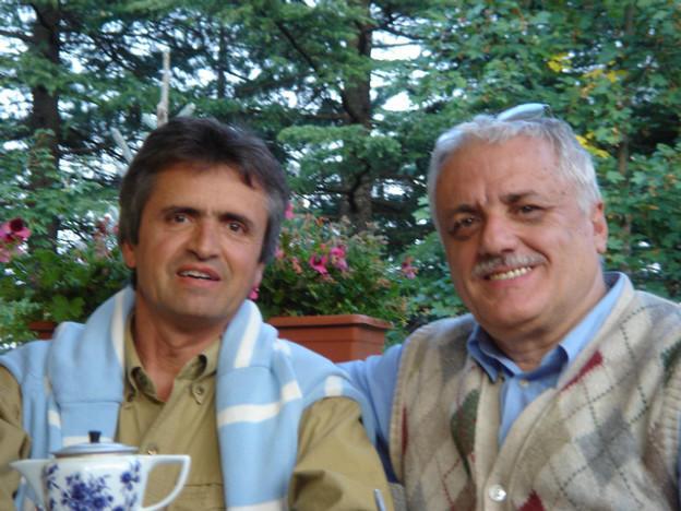 With my dear friend Mino - Fanano - Italy