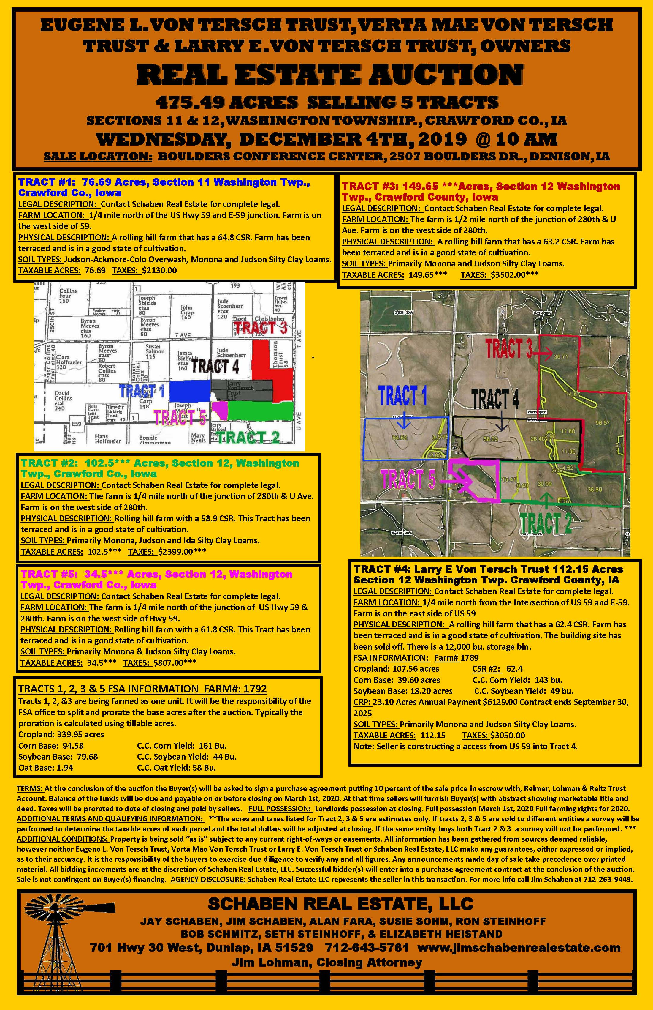 Click on picture to go to video about the land being auctioned