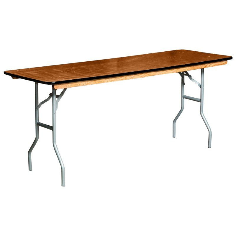8' Rectangular Table $8/day or weekend 10+ $7/ea