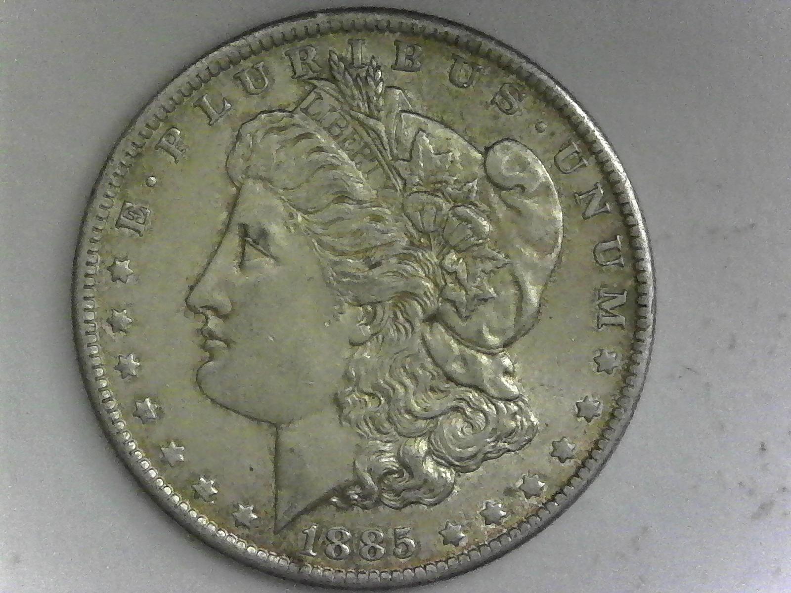 1885 Morgan Silver Dollar $100