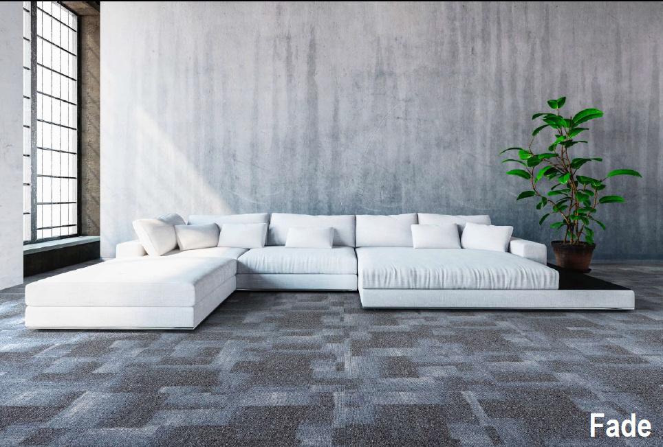 Balta ofrece una amplia variedad de baldosas de Alfombras de lujo en formato de 50 x 50 cm y  fabricadas con polipropileno y nylon
