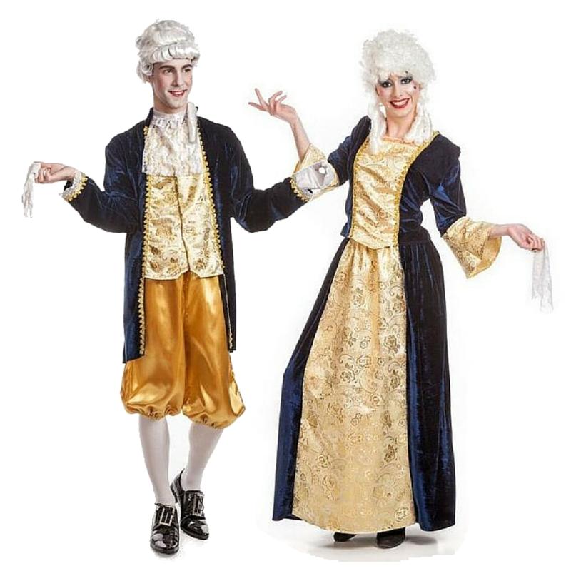Pareja Dama Antigua y Caballero 2