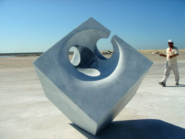 Mirage of shadows- marble -  Mersin, Turkey