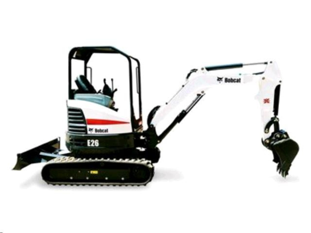 Bobcat E26 w/ Thumb $225/day $675/week $2025/month