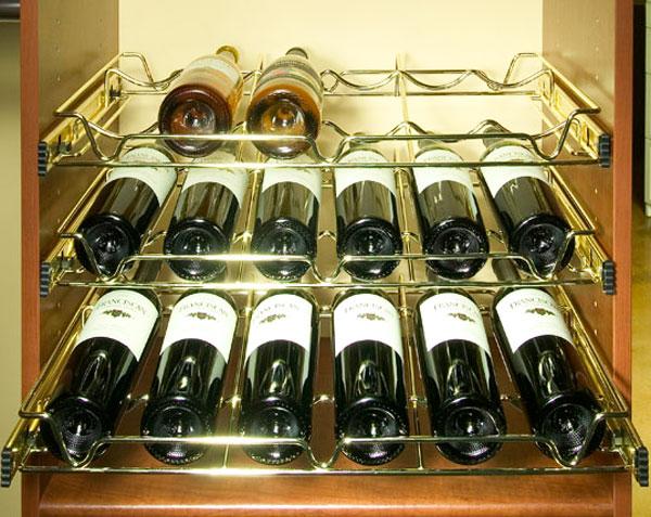 Wine closet storage