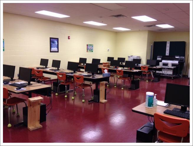 Computer lab||||
