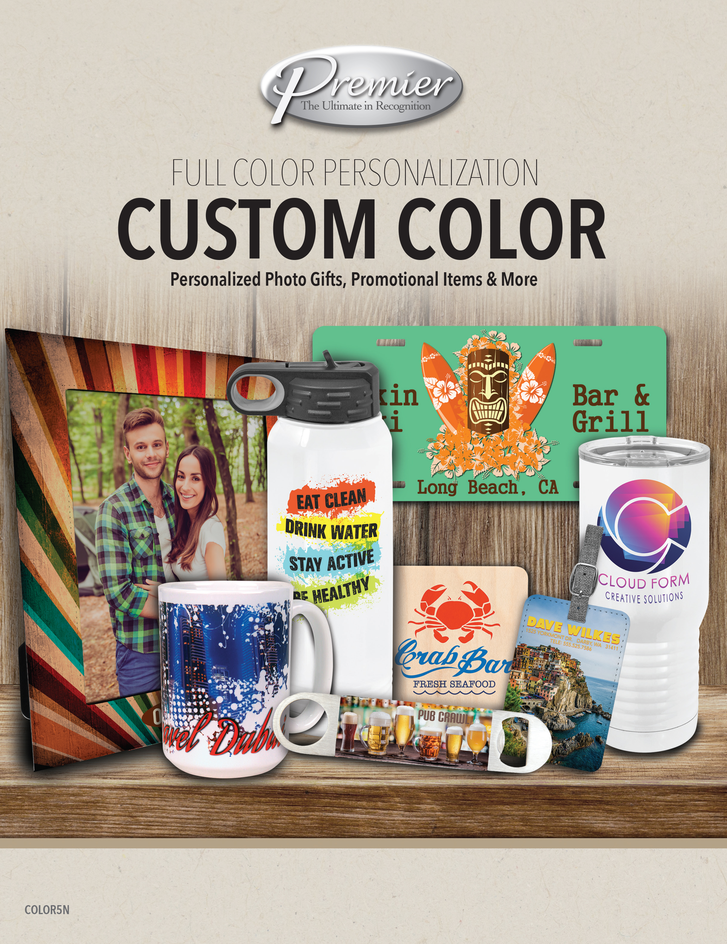 Custom Color Sublimation Gifts Click for catalog