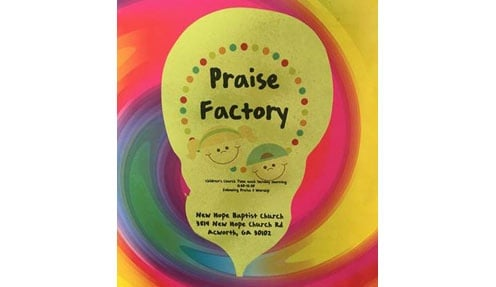 Praise Factory: Pre-K Through 4th Grade