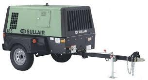 Compresor Sullair  DPQ 185 CFM Motor Caterpillar 2.2 A 100PSI ,Equipo Nuevo ¡ENTREGA INMEDIATA!