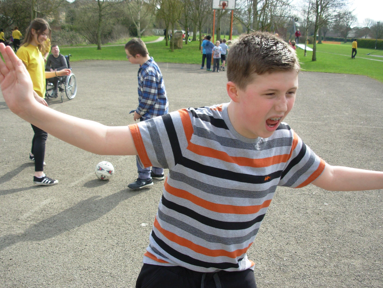 Easter Playscheme: Park visit