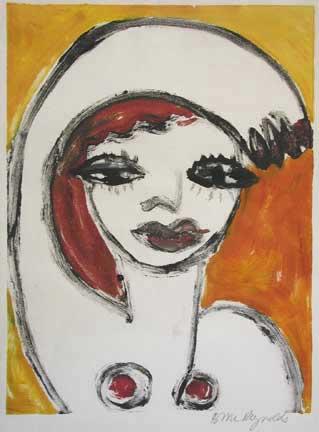 Brigitte McReynolds, Woman Waving I