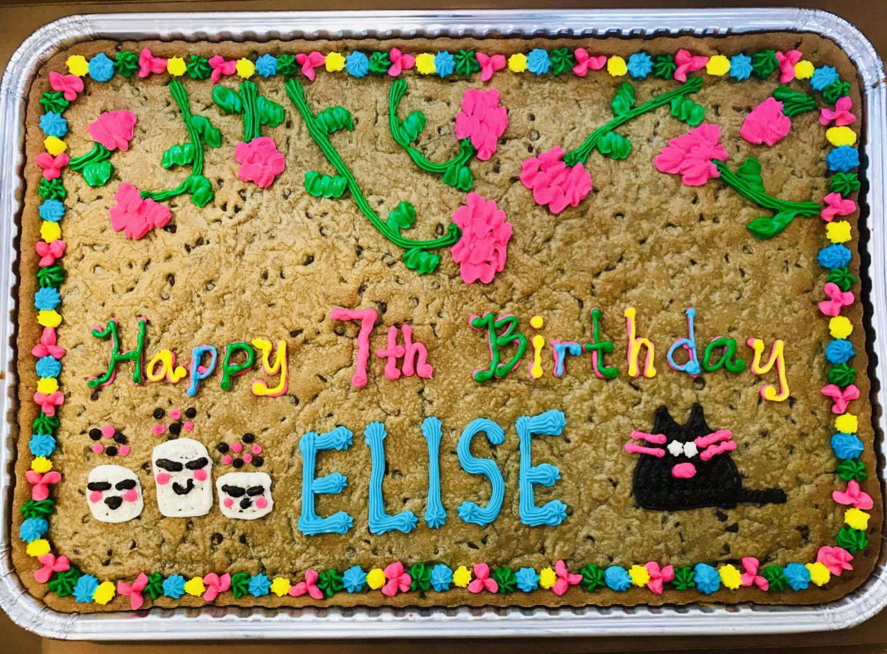 Full-Sheet Cookie Cake