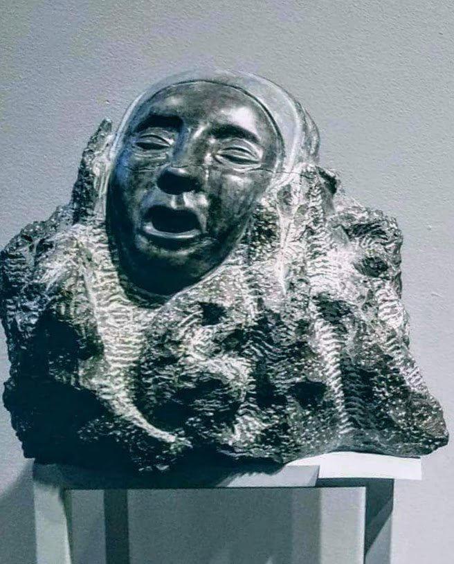 """""""Métamorphoses"""" (Calcaire de St-Marc)"""