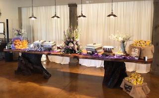 Catering Table 1