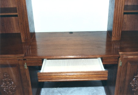 Shown is a pen and pencil drawer.