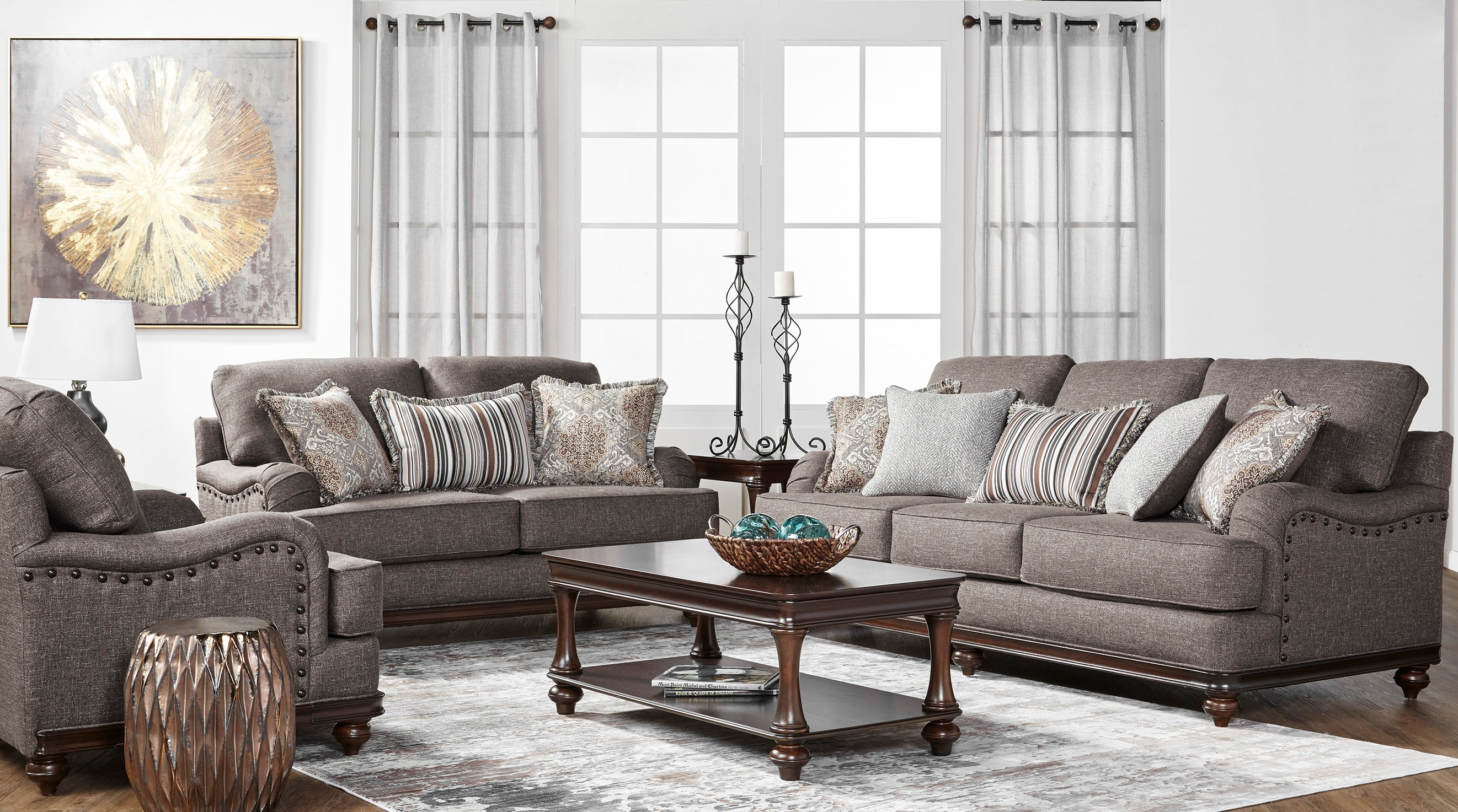 17200 sofa & loveseat