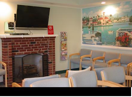 Orthodontist waiting room||||
