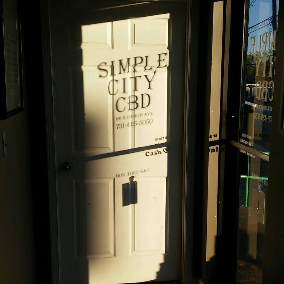 CBD Shop Entrance