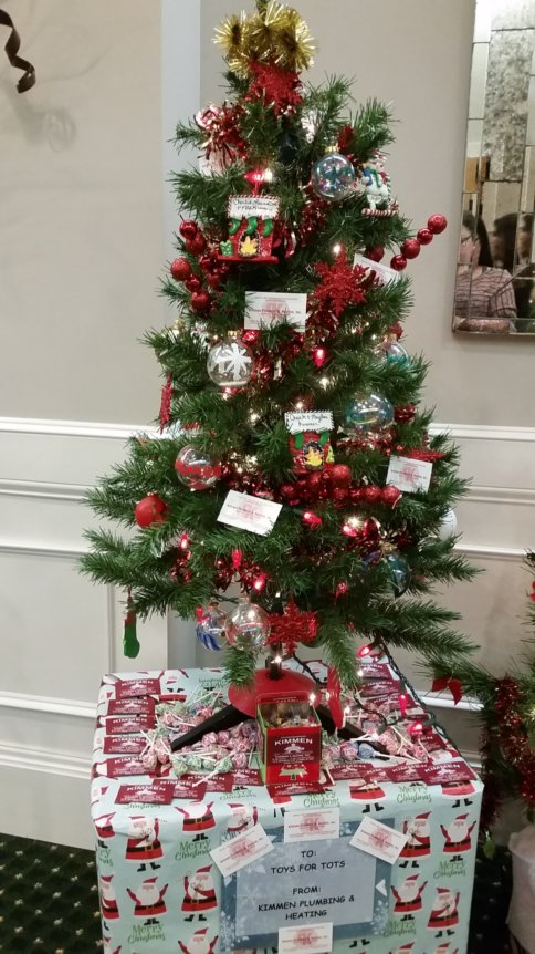 Toys For Tots Tree 2017