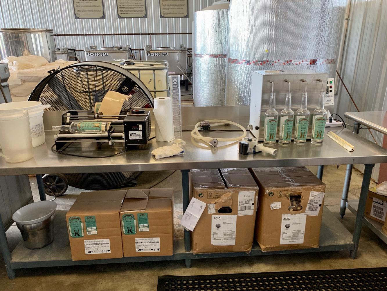 Bottling Line - Dueling Grounds Distillery