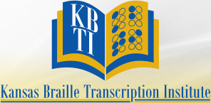 KBTI Kansas Braille Transcription Institute, Inc – Home