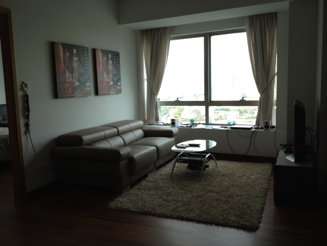 SailAtMarinaBay.com Tower 1, Two Bedroom with baywindow....gorgeously decorated for you to enjoy!