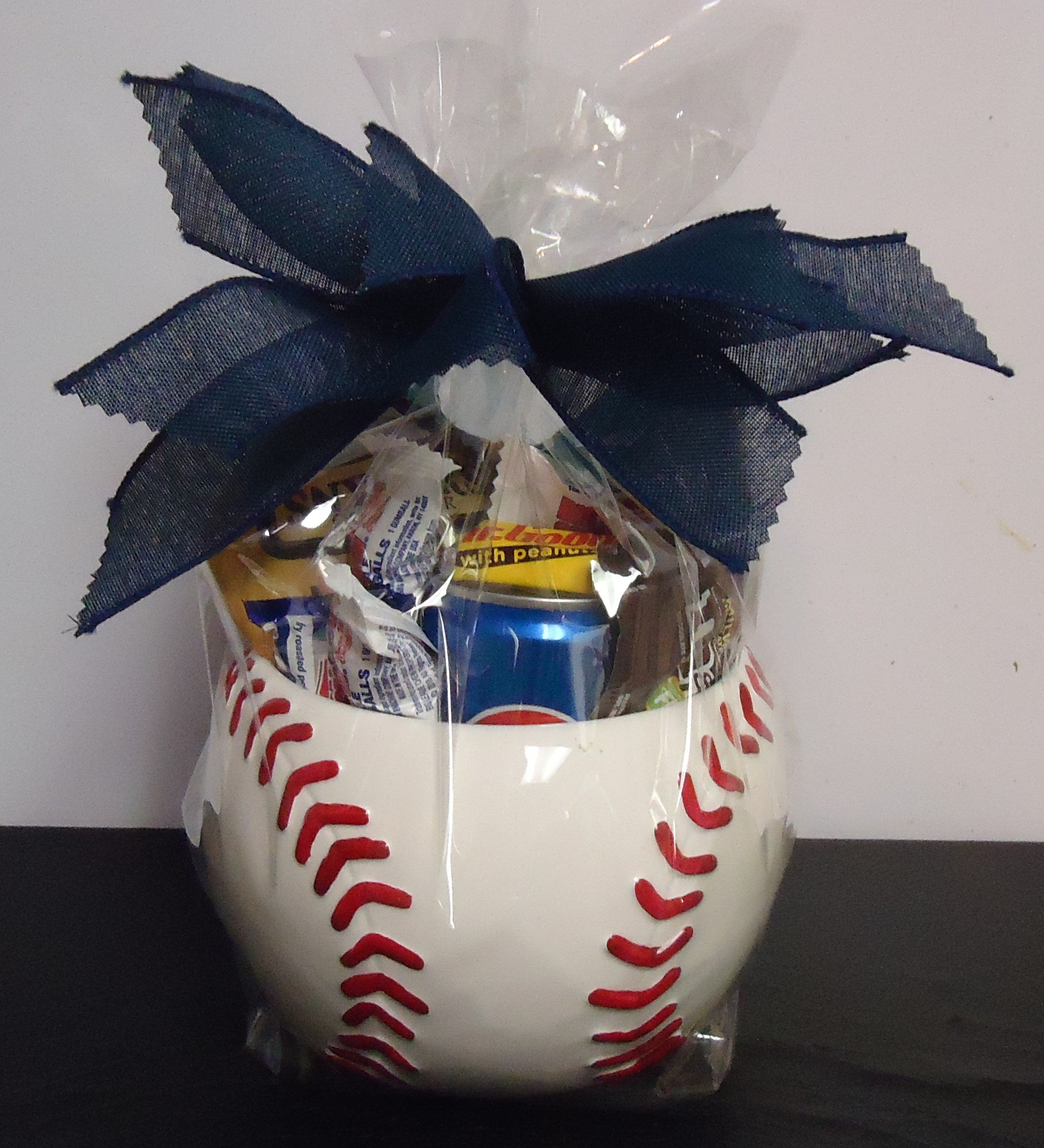 (12) Baseball Container Filled W/Candy $30.00
