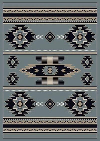 Southwest-3 Gray  5x7