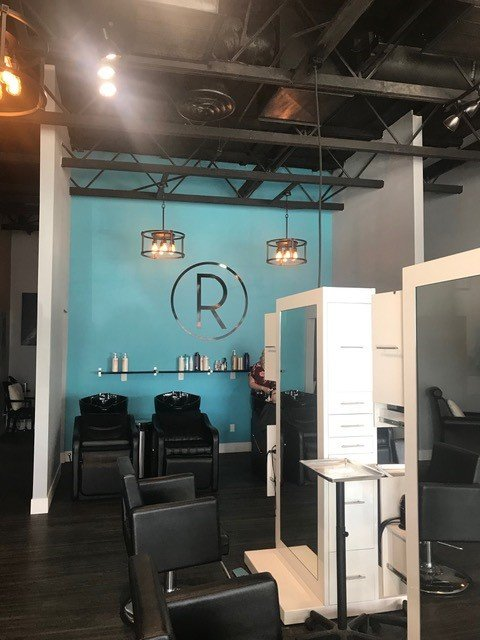 Inside Rootz Salon