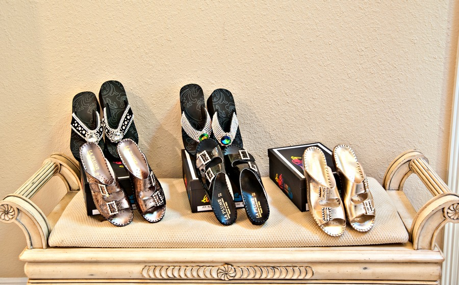 Selection of Summer Sandals    