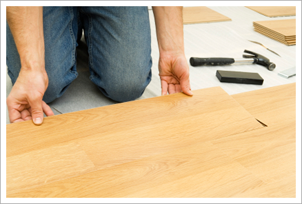 Hardwood floor installation||||
