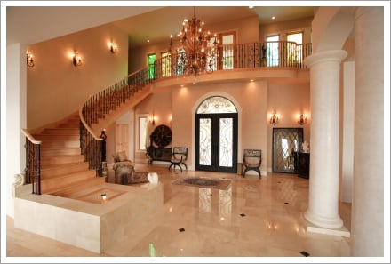 Lighting in luxury home||||