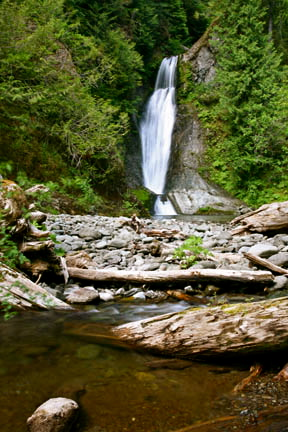 Spoon Creek Falls, Olympic Peninsula