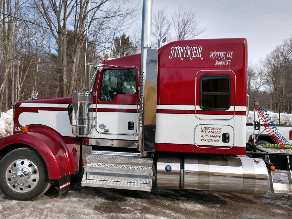 Stryker Trucking LLC Truck
