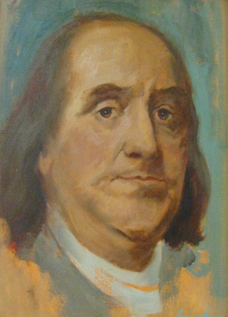 Ingraham, Franklin, 12x9 ,Oil