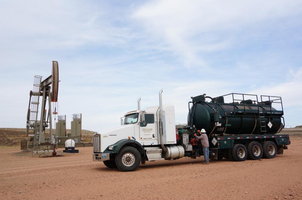 High-Pressure Pump Truck