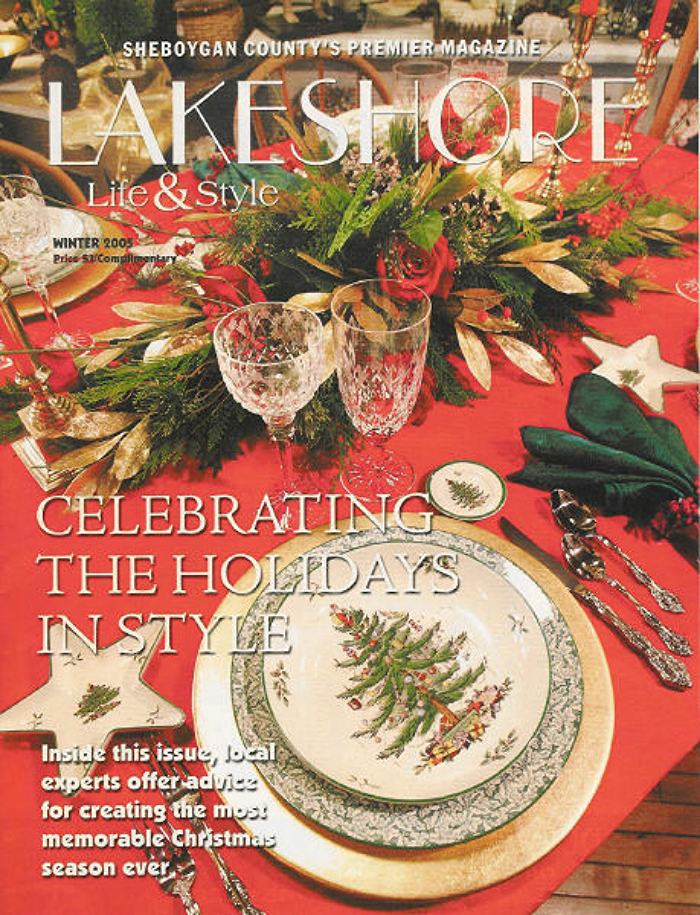 Lakeshore Life & Style Magazine, Winter 2005, Cover