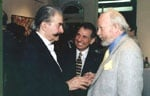 Robert Rienzo, Bernard Buffet, & Leroy Nieman