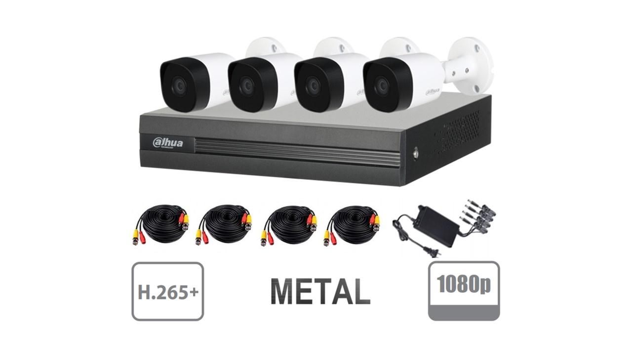 8-DAHUA COOPER XVR1B04KITII 1080 LITE METAL SKU: DAD1340031 $151.10