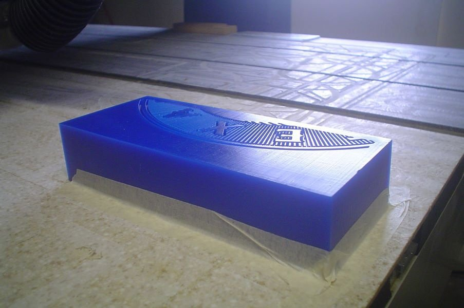 Machinable Wax Mold
