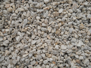 Limestone gravel