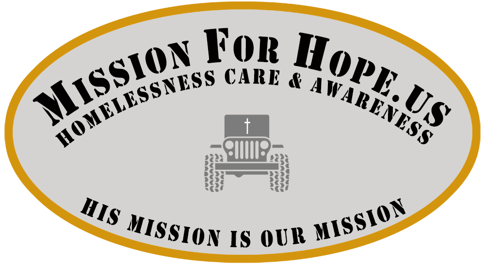 Mission For Hope, Inc. - Homelessness Care & Awareness In A Jeep