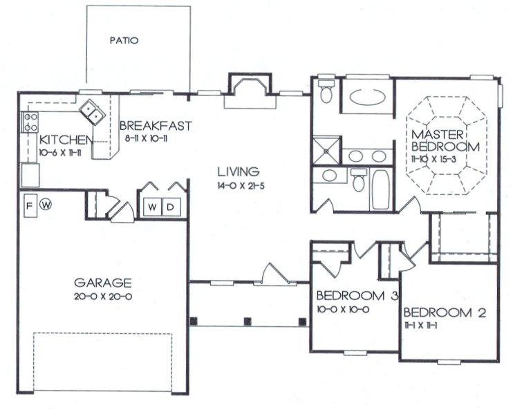 12-1 Floor Plan