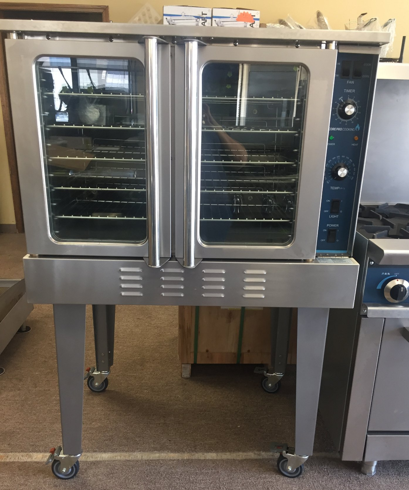 New Core Pro Full Size Gas Convection Oven on Caster  Model # CP-COG $2500.00