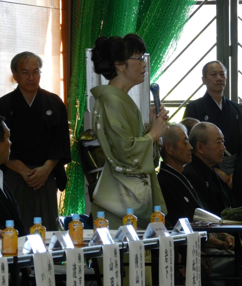 Nakamura Tomoko Kaichou opening remarks.