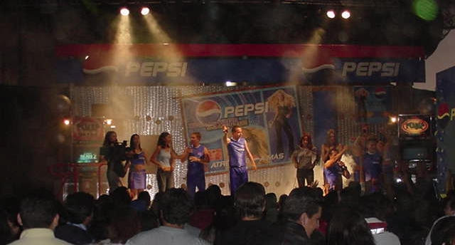 Activación Pepsi Concierto Shakira