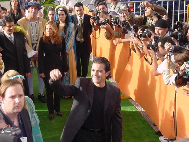 Premier Shrek 2 Auditorio Nacional con Antonio Banderas