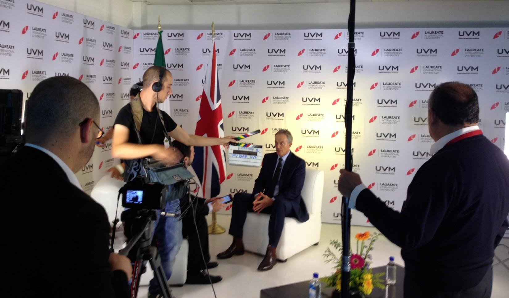 Entrevista Ex Primer Ministro Reino Unido Tony Blair