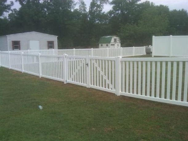 White Wooden Fence 1