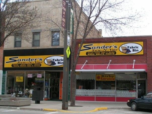 Sander's Sew-N-Vac Store Front